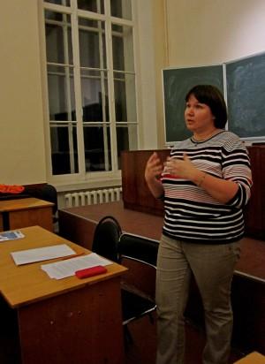 Дарья Моргунова (лекция о языковых путешествиях в Испанию)