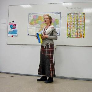 Варвара Поварова, украинский язык