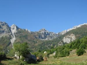 Албания. Горы