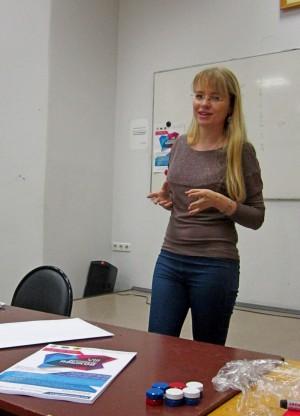 Вера Столярова, русский язык как иностранный