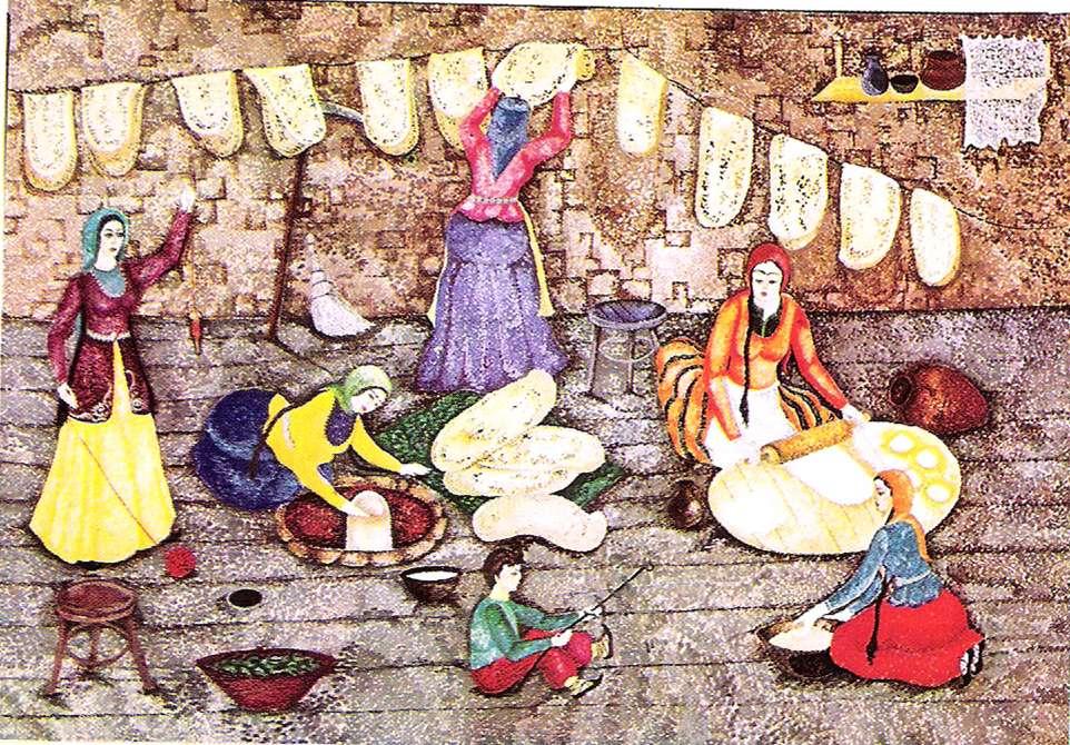 Пекут хлеб