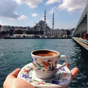 Чашка турецкого кофе